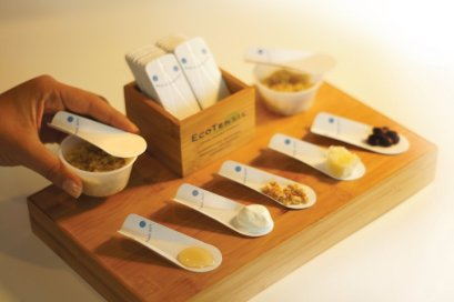 EcoTensil biodegradable spoons