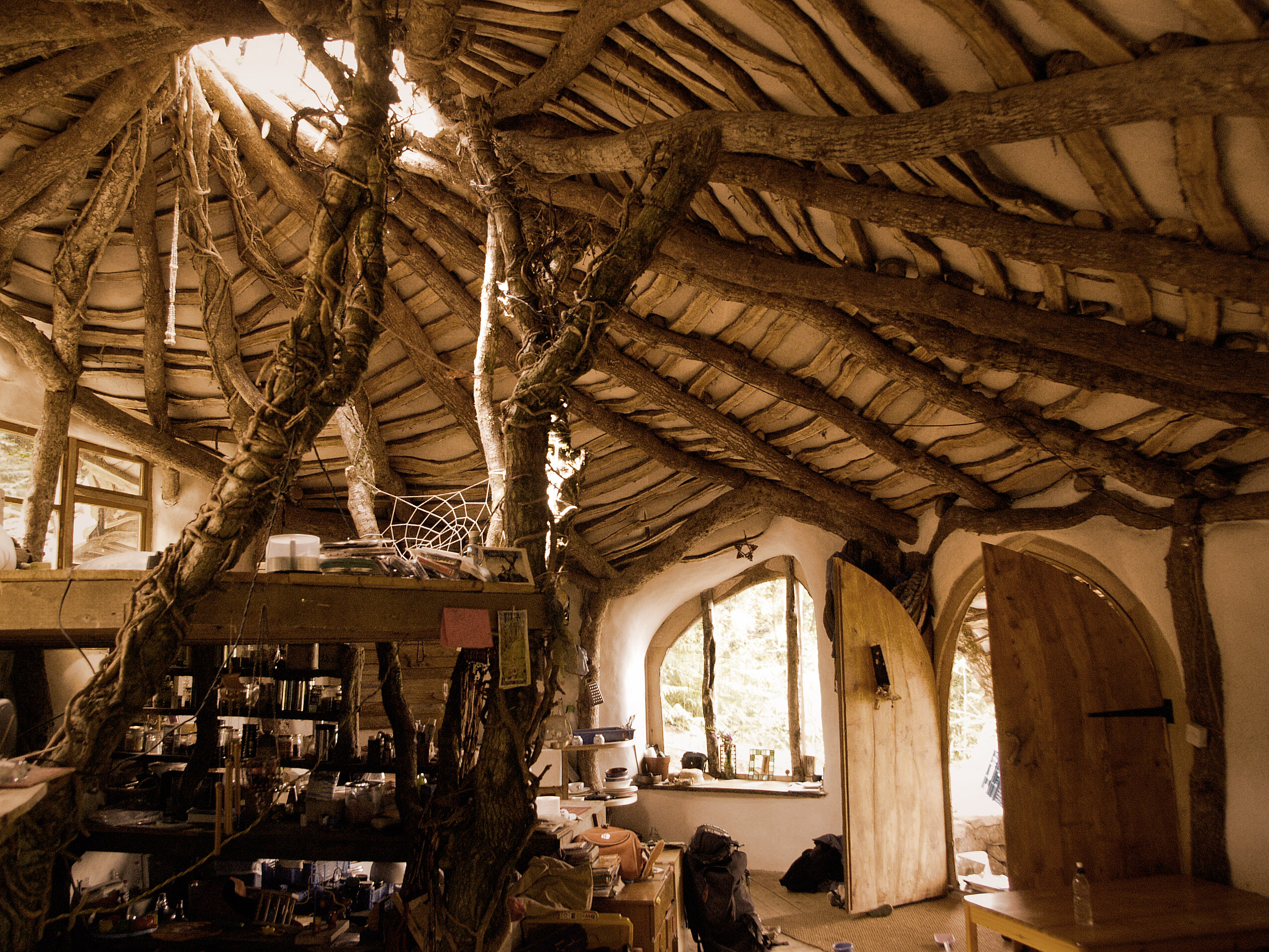 The hobbit house revisited in honor of the upcoming film for Natural home plans